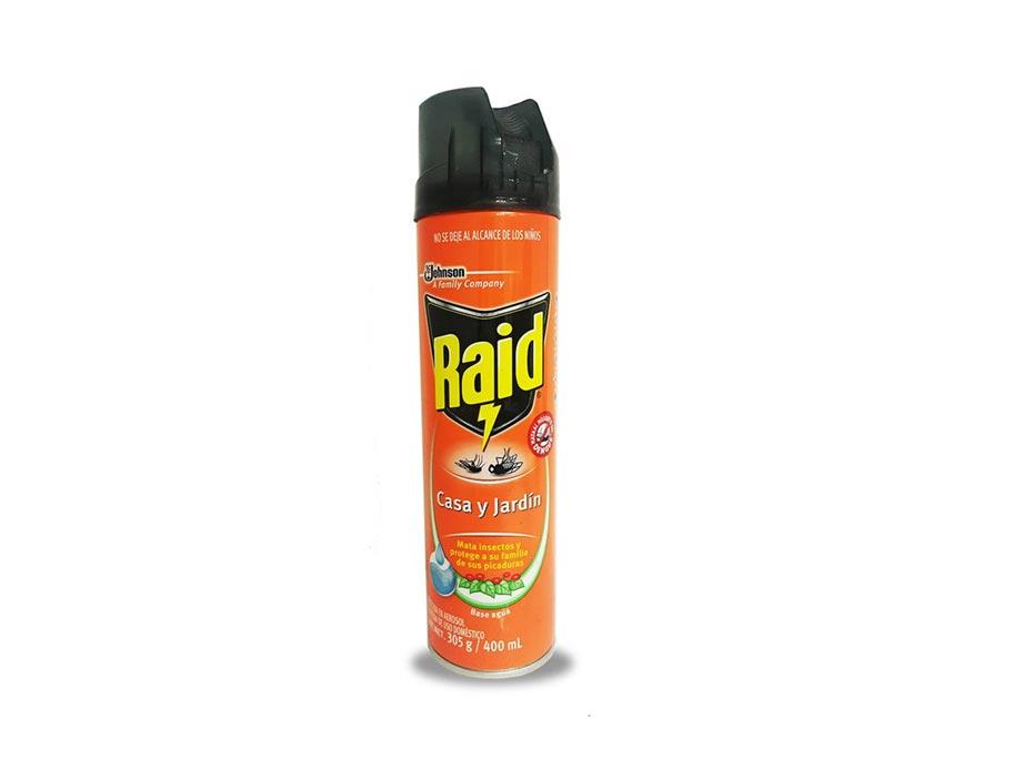 Raid casa y jardin en aerosol for Raid casa y jardin